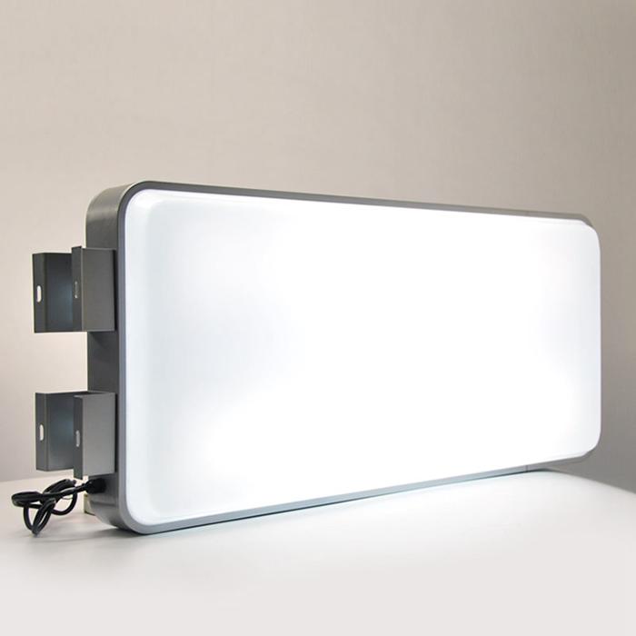 浅谈室内铝型材灯箱有几种款式?